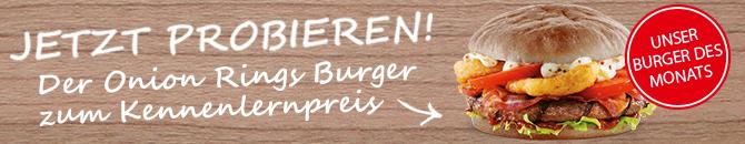 Onion Rings Burger