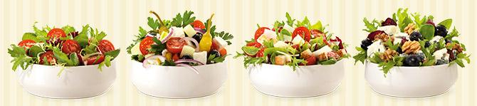 burgerme Salate Lieferservice