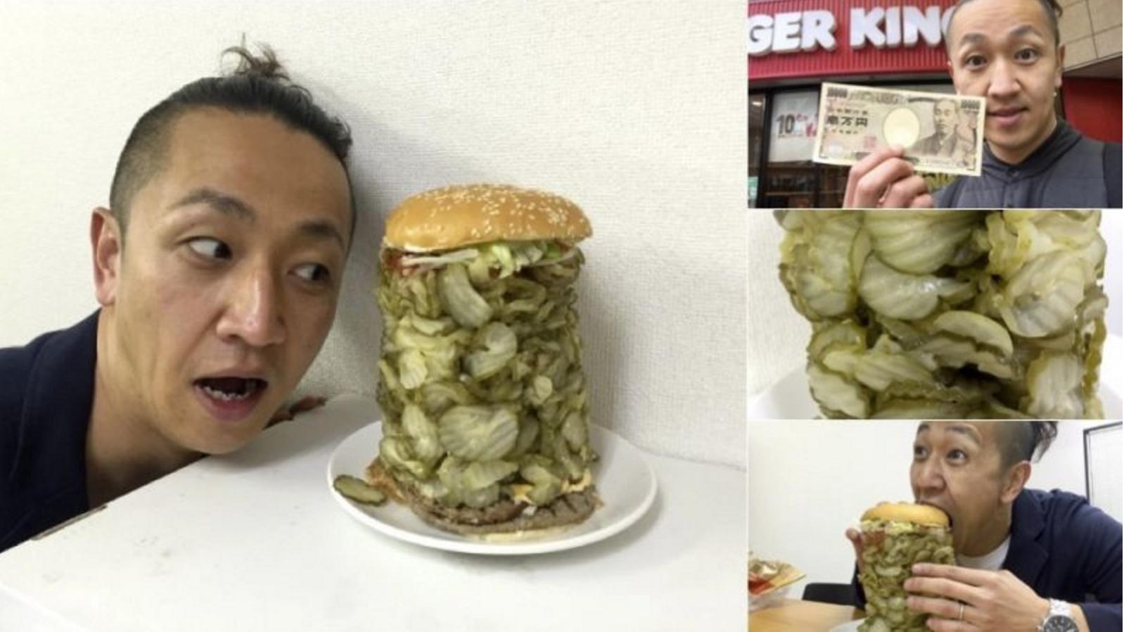 Burger Pickles