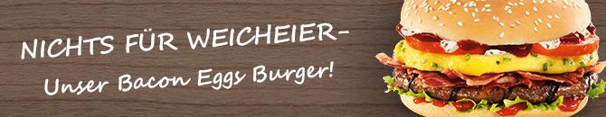 burgerme Bacon Eggs Burger