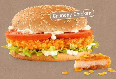 Crunchy Chicken Burger
