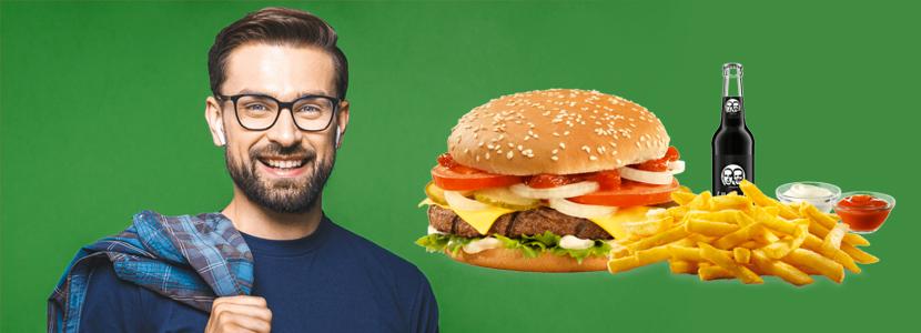 Burger Menü bestellen von burgerme