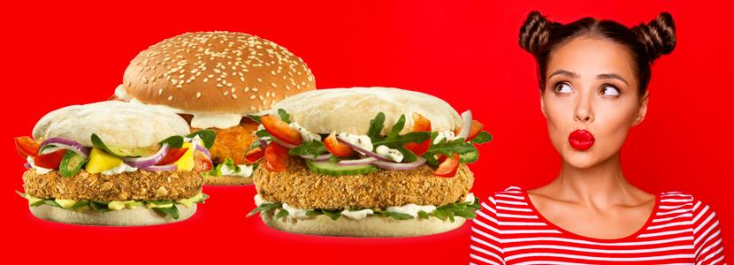 Veggie Burger bestellen von burgerme